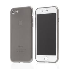 Kryt Baseus pro Apple iPhone 7 / 8 gumový - černý průhledný
