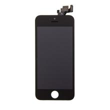 LCD panel + dotykové sklo (touch screen digitizér) pro Apple iPhone 5 - osazený černý - kvalita A