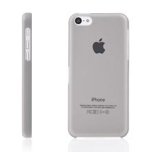 Ultra tenký ochranný kryt pro Apple iPhone 5C (tl. 0,3 mm) - plastový - matný - šedý