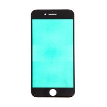 Přední sklo pro Apple iPhone 8 - černé - kvalita A+