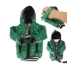 Ochranné pouzdro zelená bunda s kapucí se šňůrkou na krk pro Apple iPhone / iPod a podobná zařízení