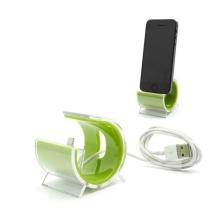 Designová dokovací stanice (dock) s Lightning kabelem pro Apple iPhone / iPod - zelená