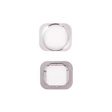 Tlačítko Home Button pro Apple iPhone 6 / 6 Plus - bílo-stříbrné - kvalita A