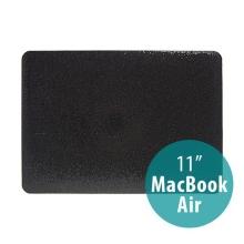 Plastový obal pro Apple MacBook Air 11 - třpytivý povrch - černý