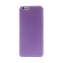 Ultra tenký plastový kryt pro Apple iPhone 6 (tl. 0,3mm) - matný - fialový