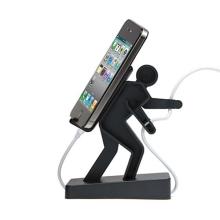 Plastový stojánek horolezec Boris pro Apple iPhone / iPod a podobná zařízení - černý