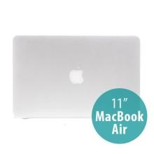Tenký ochranný plastový obal pro Apple MacBook Air 11.6 - matný - bílý
