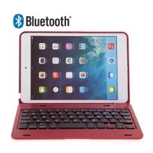 Klávesnice Bluetooth 3.0 s krytem pro Apple iPad mini / mini 2 / mini 3 - červená