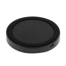 Bezdrátová nabíječka / nabíjecí podložka Qi - plastová - černá / šedá