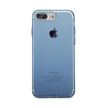 Kryt Baseus pro Apple iPhone 7 Plus / 8 Plus gumový / antiprachové záslepky - modrý průhledný