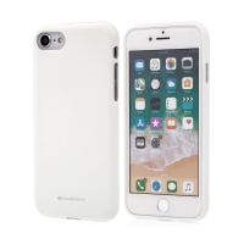 Kryt MERCURY Soft feeling pro Apple iPhone 7 / 8 - gumový - bílý