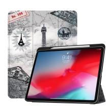 """Pouzdro pro Apple iPad Pro 11"""" - funkce chytrého uspání + stojánek - Paříž"""