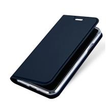 Pouzdro DUX DUCIS pro Apple iPhone X - stojánek + prostor pro platební kartu - tmavě modrý