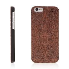 Kryt pro Apple iPhone 6 / 6S plastový dřevěný - mayský vzor