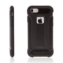 Kryt pro Apple iPhone 7 / 8 - plasto-gumový / antiprachová záslepka - černý