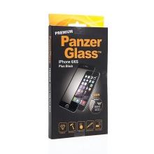 Tvrzené sklo / Tempered Glass PanzerGlass Premium pro Apple iPhone 6 Plus / 6S Plus - černý rámeček - 0,4mm