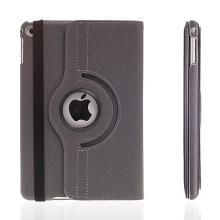 Pouzdro / kryt pro Apple iPad mini 4 - 360° otočný držák a prostor na doklady - šedé
