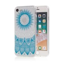 Kryt pro Apple iPhone 7 / 8 - gumový - modrá mandala