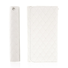 Pouzdro / peněženka pro Apple iPhone - prostor pro umístění platební karty - bílé