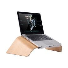 Stojan / podstavec SAMDI pro Apple MacBook - dřevěný světlý