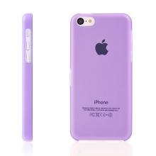 Ultra tenký ochranný kryt pro Apple iPhone 5C (tl. 0,3 mm) - plastový - matný - fialový