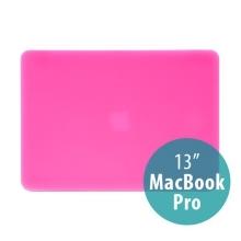 Tenký ochranný plastový obal pro Apple MacBook Pro 13 (model A1278) - matný - růžový