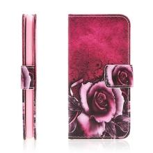 Pouzdro pro Apple iPhone 7 / 8 - stojánek / prostor pro doklady - růže