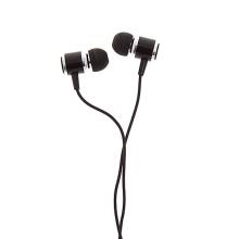 Sluchátka JMF pro Apple iPhone / iPad / iPod a další zařízení - černá