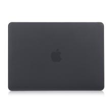 """Obal / kryt pro MacBook Air 2018 13.3"""" (A1932) - plastový - černý"""