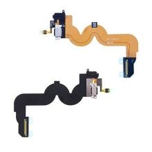 Flex kabel s Lightning konektorem + audio jack konektor pro Apple iPod touch 5.gen. - černý - kvalita A+