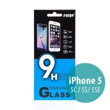 Tvrzené sklo (Tempered Glass) pro Apple iPhone 5 / 5C / 5S / SE - na přední stranu - 0,33mm