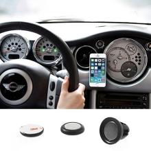 Univerzální magnetický držák do automobilu s přichycením na ventilační mřížku pro Apple iPhone a další zařízení - černý