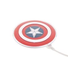 Bezdrátová nabíječka / nabíjecí podložka Qi Standard - Captain America