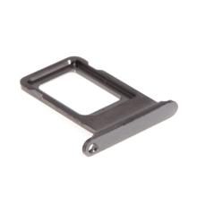 Rámeček / šuplík na Nano SIM pro Apple iPhone Xs Max - šedý (Space Grey) - kvalita A+