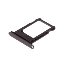 Rámeček / šuplík na Nano SIM pro Apple iPhone 8 - černý (Black) - kvalita A+