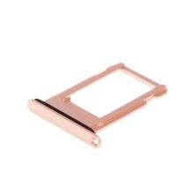 Rámeček / šuplík na Nano SIM pro Apple iPhone 8 - růžový (Rose Gold) - kvalita A+