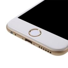 Samolepka na tlačítko Home Button Apple iPhone / iPad - podpora / zachování funkce Touch ID - bílá / zlatá
