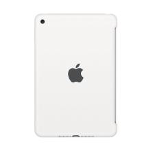Originální kryt pro Apple iPad mini 4 - výřez pro Smart Cover - silikonový - bílý