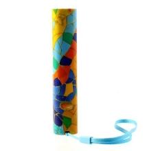 Stylová mini externí baterie 3000mAh + poutko na ruku - barevná mozaika