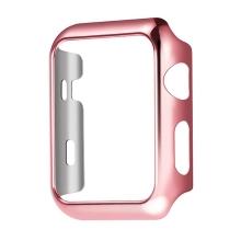 Kryt / rámeček / bumper HOCO Defender pro Apple Watch 42mm series 2 - plastový - růžový / Rose Gold
