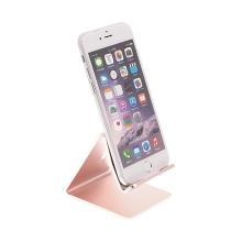 Stojánek HOCO pro Apple iPhone - hliníkový růžový
