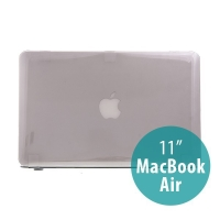 Tenký ochranný plastový obal pro Apple MacBook Air 11.6 - lesklý - šedý