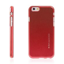 Kryt Mercury iJelly pro Apple iPhone 6 / 6S gumový červený