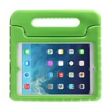 Ochranné pěnové pouzdro pro děti na Apple iPad Air 1.gen. s rukojetí / stojánkem - zelené