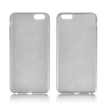 Ultra tenký gumový kryt pro Apple iPhone 6 Plus / 6S Plus (tl. 0,45mm) - hladký - šedý