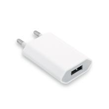 5W USB mini nabíječka / adaptér pro Apple iPhone / iPod (1A) - bílá