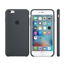 Originální kryt pro Apple iPhone 6 Plus / 6S Plus - silikonový - uhlově šedý