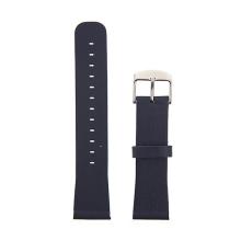 Řemínek pro Apple Watch 40mm Series 4 / 38mm 1 2 3 - kožený - tmavě modrý