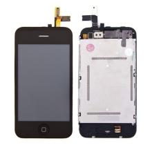 Kompletně osazená přední čast (LCD, digitizér atd.) pro Apple iPhone 3GS - černý rámeček - kvalita A