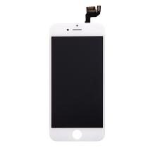 LCD panel + dotykové sklo (touch screen digitizér) pro Apple iPhone 6S - osazený - bílý - kvalita A+